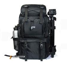 Waterproof DSLR SLR Camera Backpack 17'' Laptop Bag Padded + a shoulder bag New