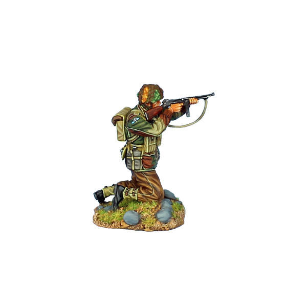 First Legion  NOR063 British Airborne Kneling Firing Thompson SMG