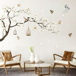 Removable-3D-Flower-Tree-Home-Room-Art-Decor-DIY-Wall-Sticker-Decal-Charm
