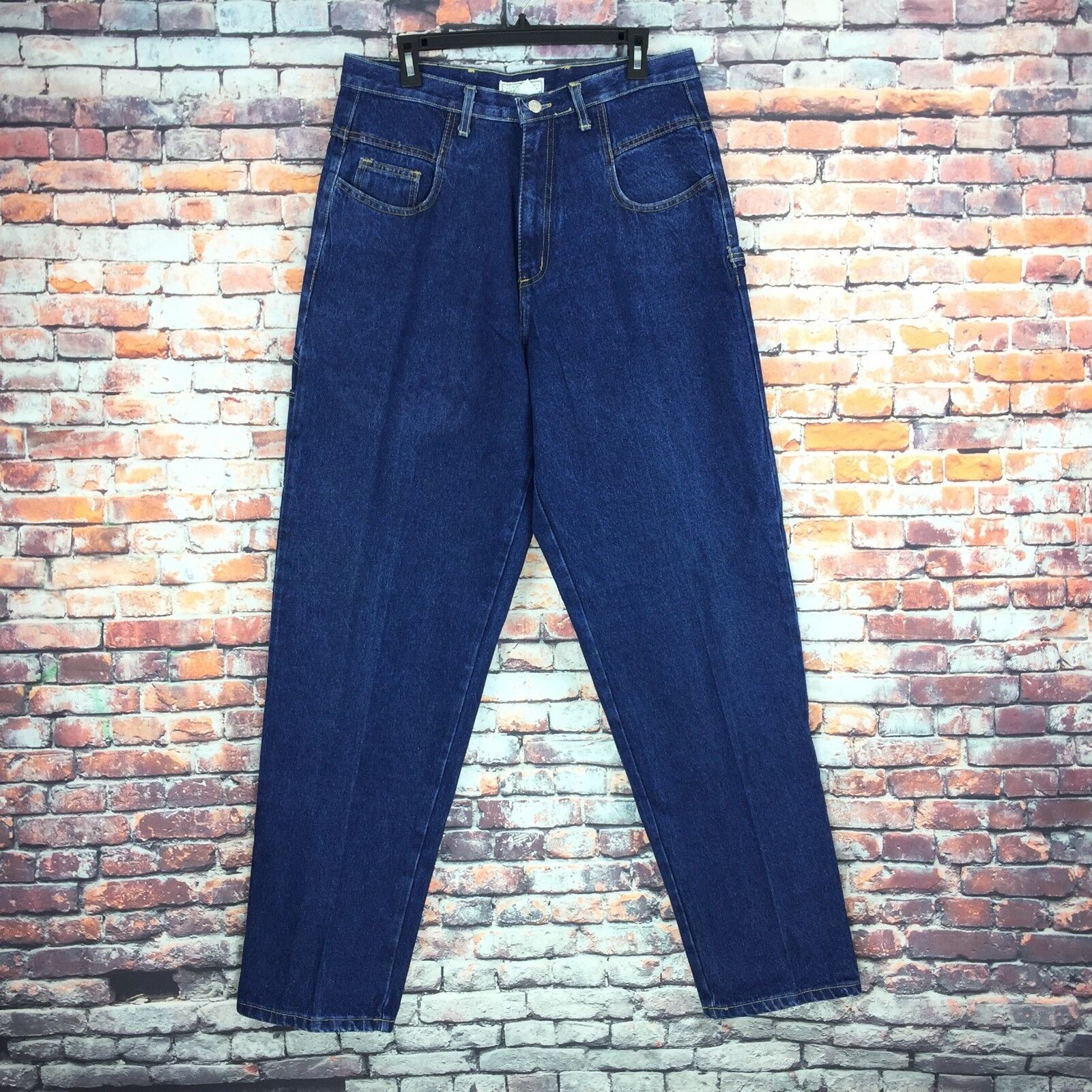 Vintage Guess Womens Size 34 Tapered Carpenter Jeans