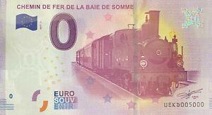 BILLET-0-EURO-CHEMIN-DE-FER-DE-LA-BAIE-DE-SOMME-2017-NUMERO-5000-DERNIER-BILLET