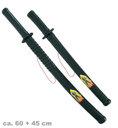 Ninja-Schwert 60cm Stilett 45cm Kämpfer Chinesisches Spezialkommando Söldner