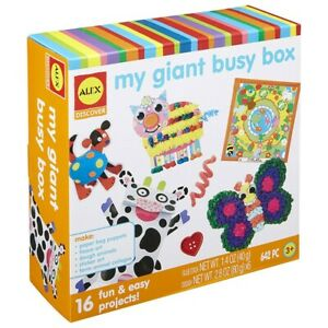 Alex-Toys-My-Giant-Busy-Box-Kit-Keep-039-em-busy-with-My-Giant-Busy-Box