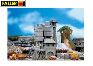 Faller-H0-130951-Altes-Betonmischwerk-NEU-OVP
