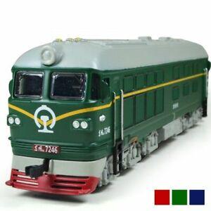 CERCHI-IN-LEGA-1-87-Diesel-Locomotiva-Del-Treno-Modello-Retro-Modello-Giocattolo-acusto-Ottico