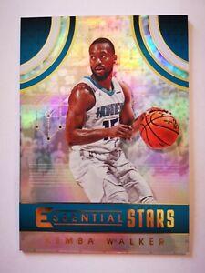 Panini Essentials 2017-18 card carte NBA Charlotte Hornets ES-29 Kemba Walker