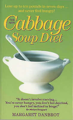 """""""AS NEW"""" The New Cabbage Soup Diet, Danbrot, Margaret, Book"""