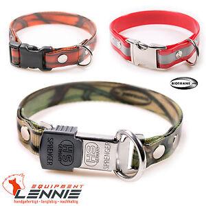 BioThane-Hundehalsband-Halsband-19-mm-Gold-Reflex-Camouflage-Klickverschluss