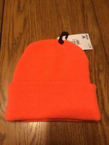 Hot Shot Knit Beanie Blaze Orange Size  One Size Ships N24h ... 5354e8100ae7