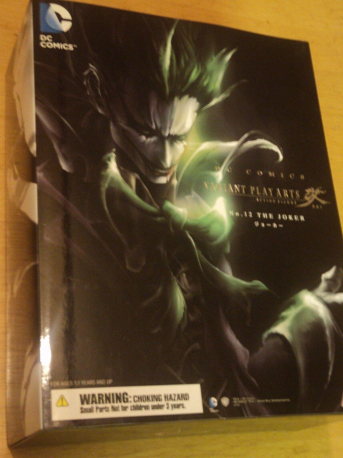 BATMAN DC COMICS: la variante JOKER Play Arts Kai Figura-NUOVO e SIGILLATO