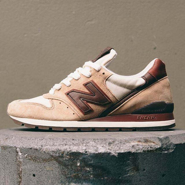 New Balance Men's 996 Horween Leather Tan Brown M996DCB Sz 9 9.5 10 MADE IN USA