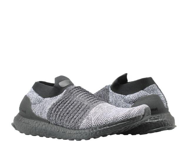 dde70488415 Adidas UltraBOOST Laceless Oreo Black White Men s Running Shoes BB6137
