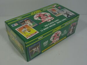 1991-Score-Collector-Set-Factory-Sealed-Box-of-972-MLB-Baseball-Trading-Cards