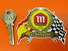 MONTESA Flags Scroll helmet Moto X motorcycle sticker