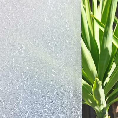 90cm x 1m Rice Paper Privacy Frosted Frosting Removable Window Glass Film