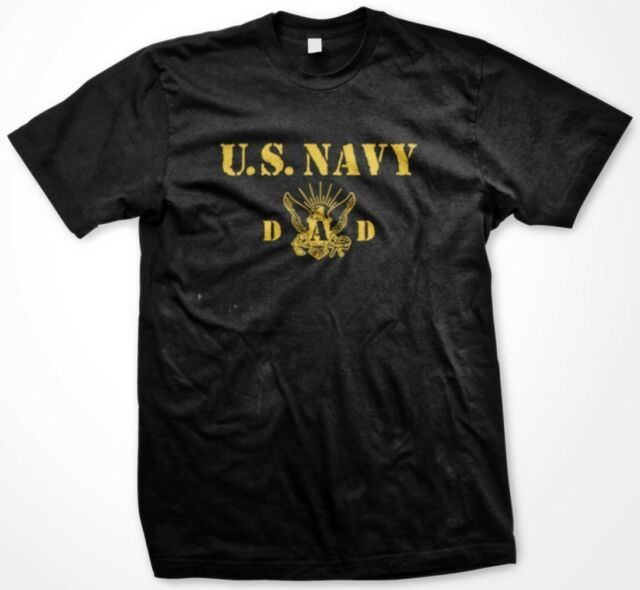 U.S. Navy Dad - Father's Day Military Dad Father Funny Slogans - Men's T-shirt
