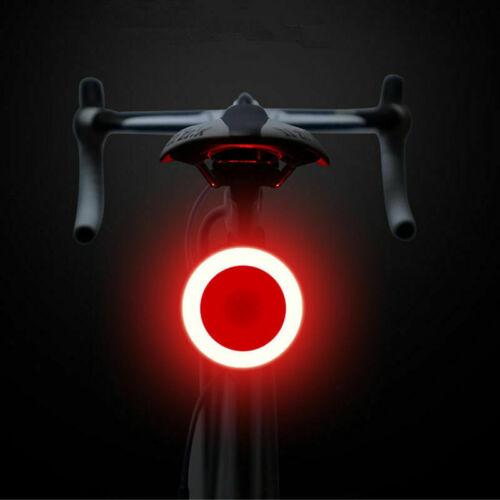 USB wiederaufladbare Fahrradrücklicht LED Rücklicht Sicherheitswarnlicht Lampes