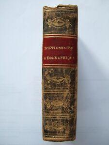 Felix-LALLEMENT-DICTIONNAIRE-DE-POCHE-GEOGRAPHIQUE-DE-LA-FRANCE-1828