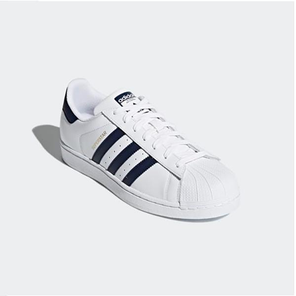 Nuevas Adidas Original Mens súperEstrella blancoo Azul Marino CM8082 Us M 7-10 takse au