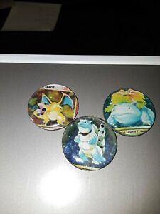 Handcrafted Custom Pokemon Mew-Mewtwo Magnet Set