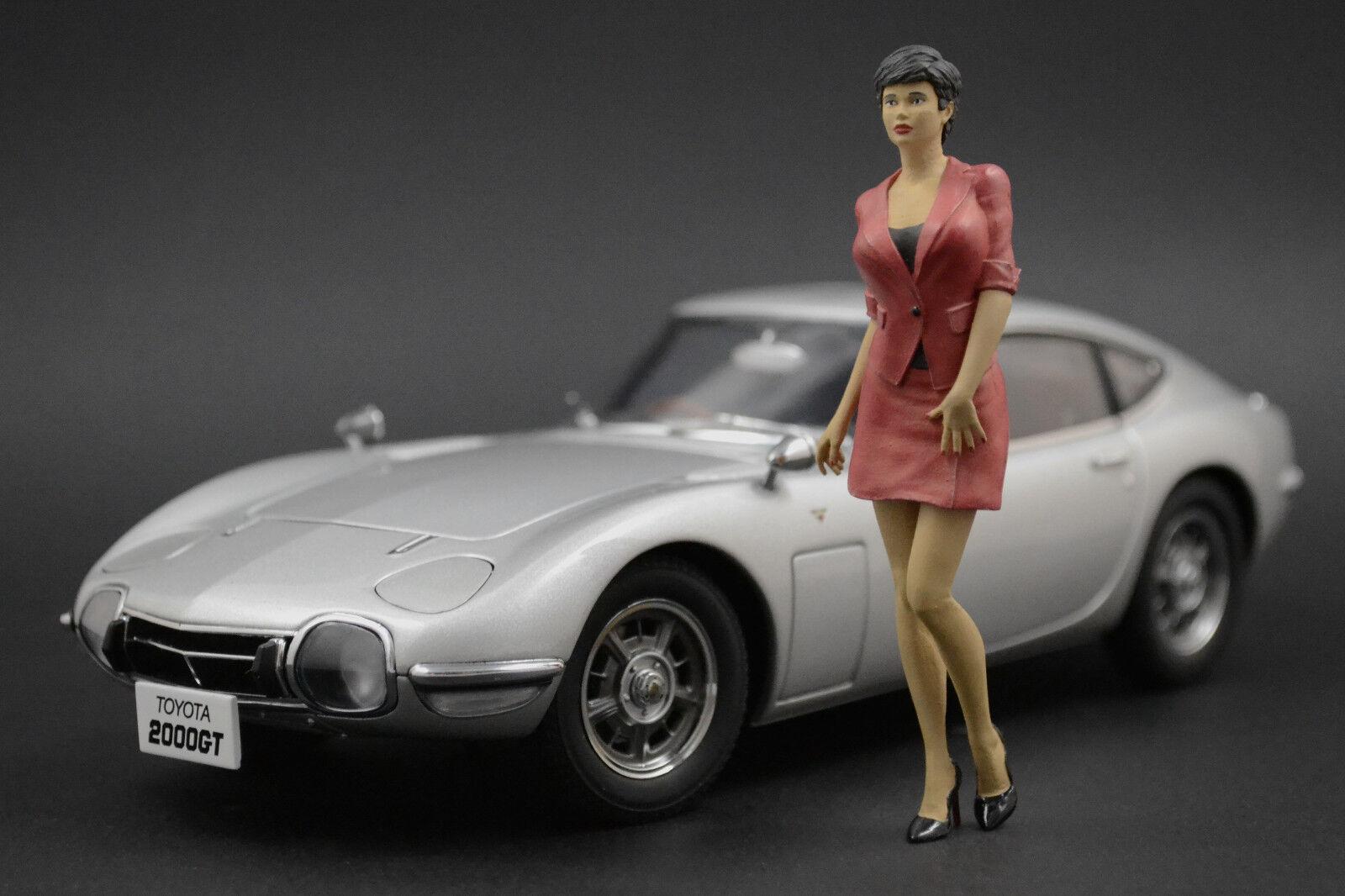 Giulia Show Girl Figure pour 1 18 Mercedes-Benz 300SL Minichamps PMA