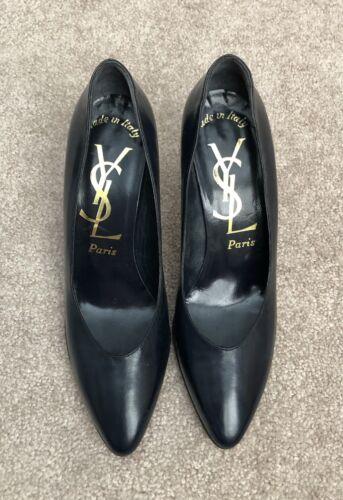 YSL Yves Saint Laurent Pumps Classic High Heels Pu