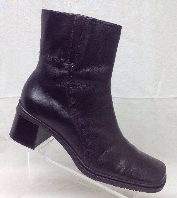 EA Flexo Womens Brown Leather Ankle Boots Enzo Angelini 8 M Concordia       M1