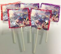 12 Beauty And The Beast Lollipops Candy For Party Favors