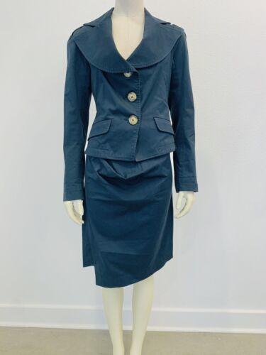 VIVIENNE WESTWOOD Vintage Anglomania Navy Blazer S