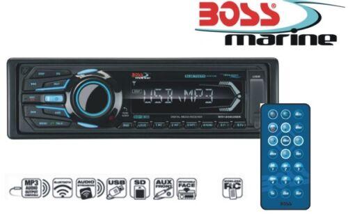 Boss Marine Radio Fernbedienung MP3 Bluetooth USB iPod Outdoor Boot 200 Watt