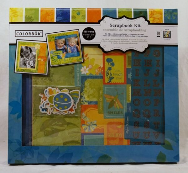 Colorbok Barefoot 12x12 Diy Scrapbook Photo Album Kit16 Sheets6