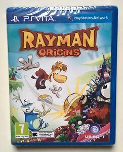 Rayman-Origins-Sony-PlayStation-Vita-Factory-Sealed-Region-Free-Rare-NEW