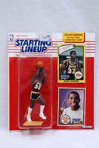 VINTAGE SEALED 1990 Starting Lineup SLU Magic Johnson Action Figure Lakers