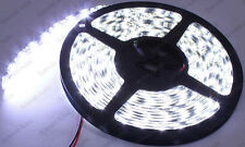 Super Bright Xenon White 5Meter LED Strip 300-SMD 3528 Interior Door Trunk Cargo