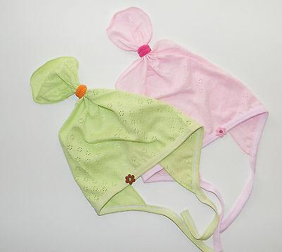 Baby Kopftuch Mädchentuch Sommertuch Stirnband Mädchen Sommermütze NEU Baumwolle