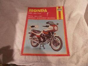 honda cbx550 cbx 550 four haynes workshop manual 82 84 ebay rh ebay ie Honda CBX 500 2014 service manual honda cbx 550 f