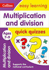 Multiplication & Division Quick Quizzes Ages 7-9 (Collins Easy Learning KS2) by Collins Easy Learning (Paperback, 2017)
