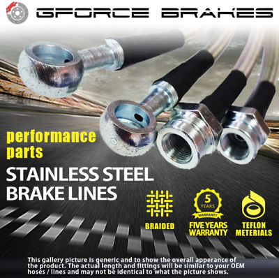 1999-2003 Acura 3.2TL Stainless Steel Brake Lines for