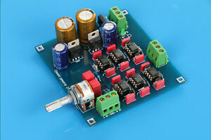 Details about SYC-M7 NE5534 Preamplifier kit DIY base on 6010D preamp