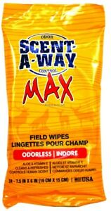 NEW-Hunters-Specialties-Scent-A-Way-Field-Wipes-24-Pack-07795