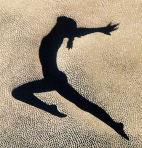#NEW PERSONALISED SILVER CHALK//GRIP BAG#  Gymnastics Hand Guard Dance Tap Lycra