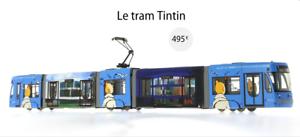 LE TRAM TINTIN hergé moulinsart TIRAGE NUMErojoE ET LIMITE à 1000 EXEMPLAIRES