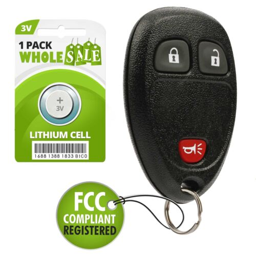 Replacement For 2005 2006 2007 2008 2009 Chevrolet Uplander Car Key Fob Control