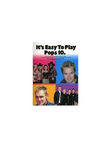 Details about Learn It's Easy To Play Pop Songs All Saints WESTLIFE Piano  BEGINNER MUSIC BOOK