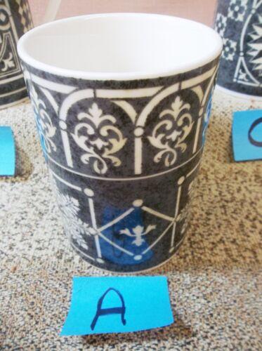 222 Fifth San Marco Mug Geometric Beige Black Rim White Arches CHOICE