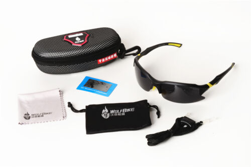 Sports Cycling Eyewear Bicycle Bike Goggles Glasses UV400 Polarized Sunglasses