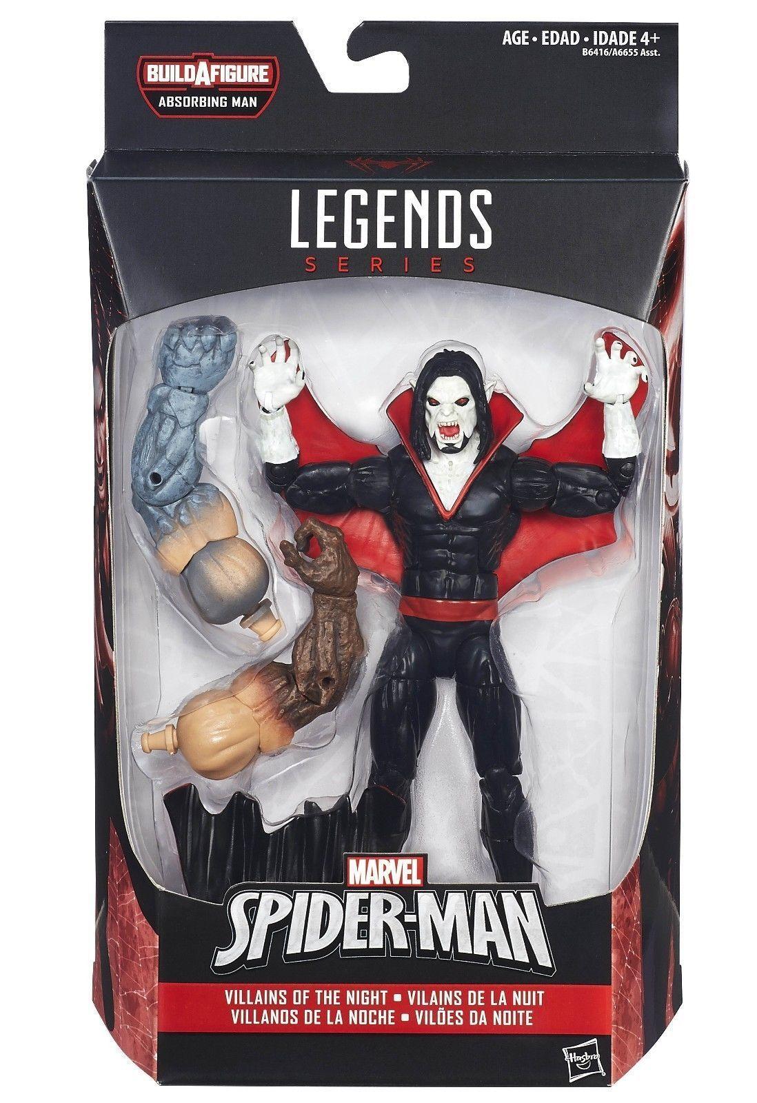 Morbius (6  ) vhtf (bis 2015) marvel - legenden absorbieren mann serie action - figur   3