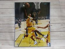 Dennis Rodman Los Angeles Lakers Signed16x20 Photo Schwartz Sports Authenticated
