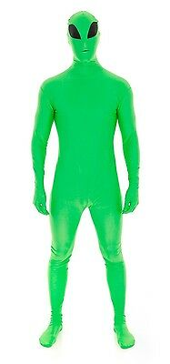 Alien Second Skin Suit - Zentai Halloween Morph Martian Costume Lycra Party