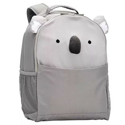 Pottery Barn Kids Koala Critter Large Gray Backpack New